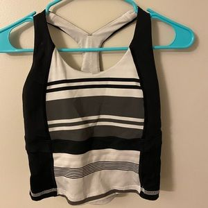 Lululemon striped racer back size 4 tank